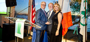 Liam Kavanagh, First Deputy Commissioner, New York City Parks &amp; Recreation Charles McKinney, <em>Robert M. Morgenthau Citizenship Award