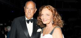 Oscar de la Renta & Diane von Furstenberg, MAS Gala