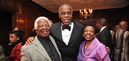 Peter Magubane, Danny Glover & former South African Consul General Fikile Magubane, Shared Interest 16th Anniversary Awards Gala
