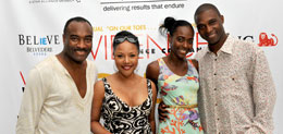 Reginald Van Lee, Lynn Whitfield, Princess & Prince Omilana, Evidence A Dance Company 7th Annual Hamptons Benefit