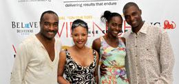 Reginald Van Lee, Lynn Whitfield, Princess & Prince Omilana, Evidence A Dance Company 7th Annual Hamptons Benefit